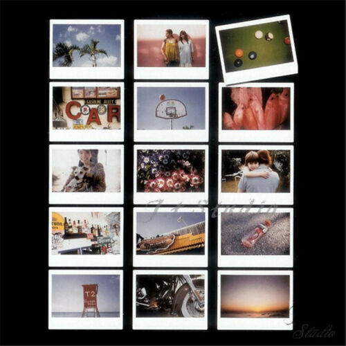 Bolsillo de Pared Colgar Ancho álbum 5 Foto Para Fujifilm Instax 210 300 Instant Cam Wide