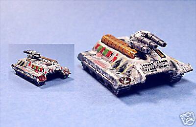 battletech painted Rhino tank SLDF