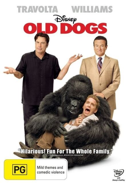 DISNEY Old Dogs (DVD) JOHN TRAVOLTA ROBIN WILLIAMS LIKE NEW CONDITION FAST POST