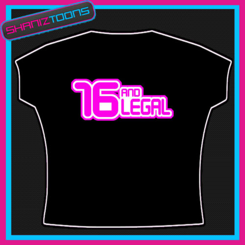 16th BIRTHDAY PRESENT 16TH SLOGAN T SHIRT GIFT