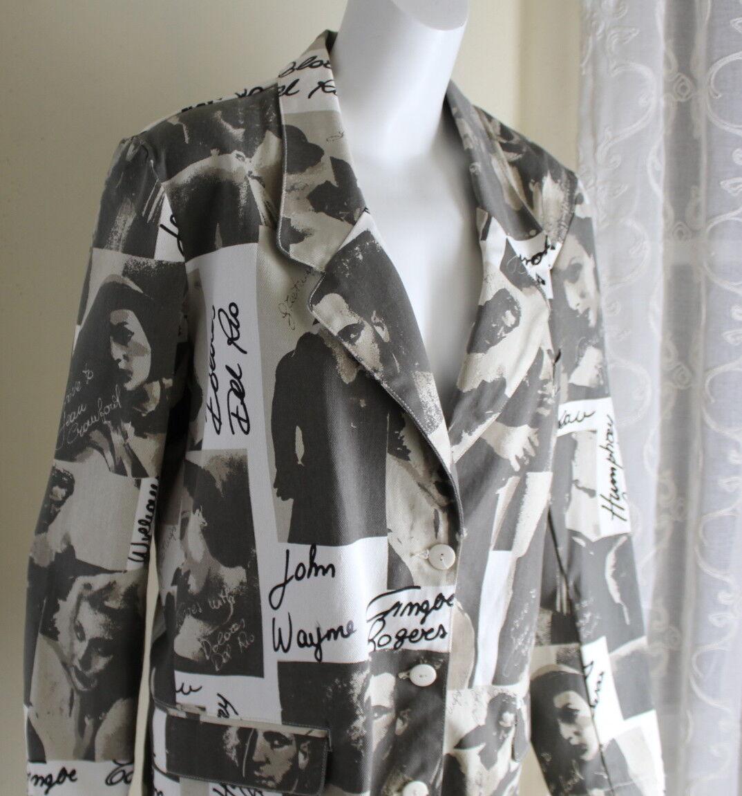 Exterior M L Vintage Film Movies Jacket John Wayn… - image 8