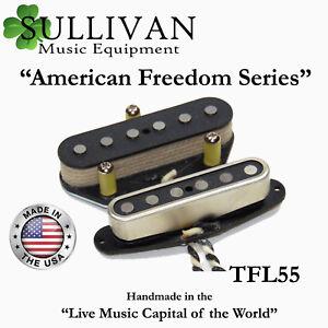 Telecaster-Custom-Shop-Pickup-Set-Hand-Wound-Fits-Fender-Telecaster-SME-TFL55