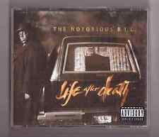 "The Notorious B.I.G. The Notorious BIG ""Life After Death"" album 2 CD Rap US 1997"