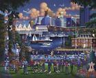 DOWDLE FOLK ART COLLECTORS JIGSAW PUZZLE STANLEY PARK VANCOUVER 1000 PC #10301