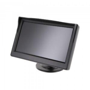 12-7-cm-Moniteur-TFT-Ventouse-Systeme-de-Marche-Arriere-LCD-5-034-Pouces-Double