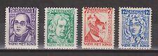 NVPH Netherlands Nederland 220 221 222 223 MLH 1928 kinderzegels Pays Bas
