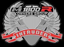 Suzuki Intruder M1800R Owners Group XL Aufnäher iron-on patch