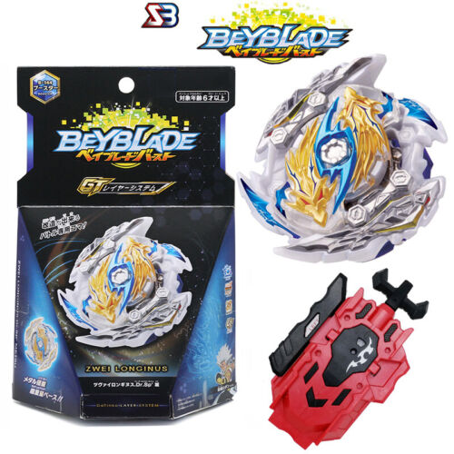 Beyblade Burst GT B144 Booster Zwei Longinus.Dr.Sp` Metsu With Launcher Boxed