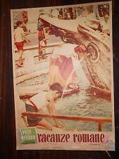 """VACANZE  ROMANE  FTB    I Edizione 1953         """"Roma Piazza di Spagna"""""""