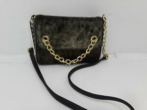 d1449e32a7 Image is loading NWT-Madden-Girl-Olive-Crushed-Velvet-Crossbody-Purse-