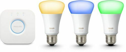 Philips HUE Colour Ambiance LED E27 KIT Bridge Smart Lighting 3 Colour Bulbs
