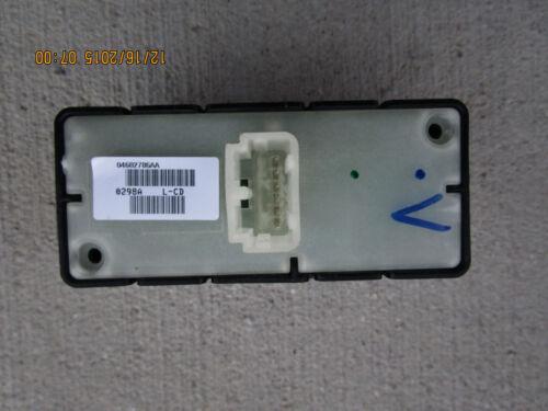07-10 CHRYSLER SEBRING PASSENGER RIGHT SIDE POWER WINDOW SWITCH 04602786AA