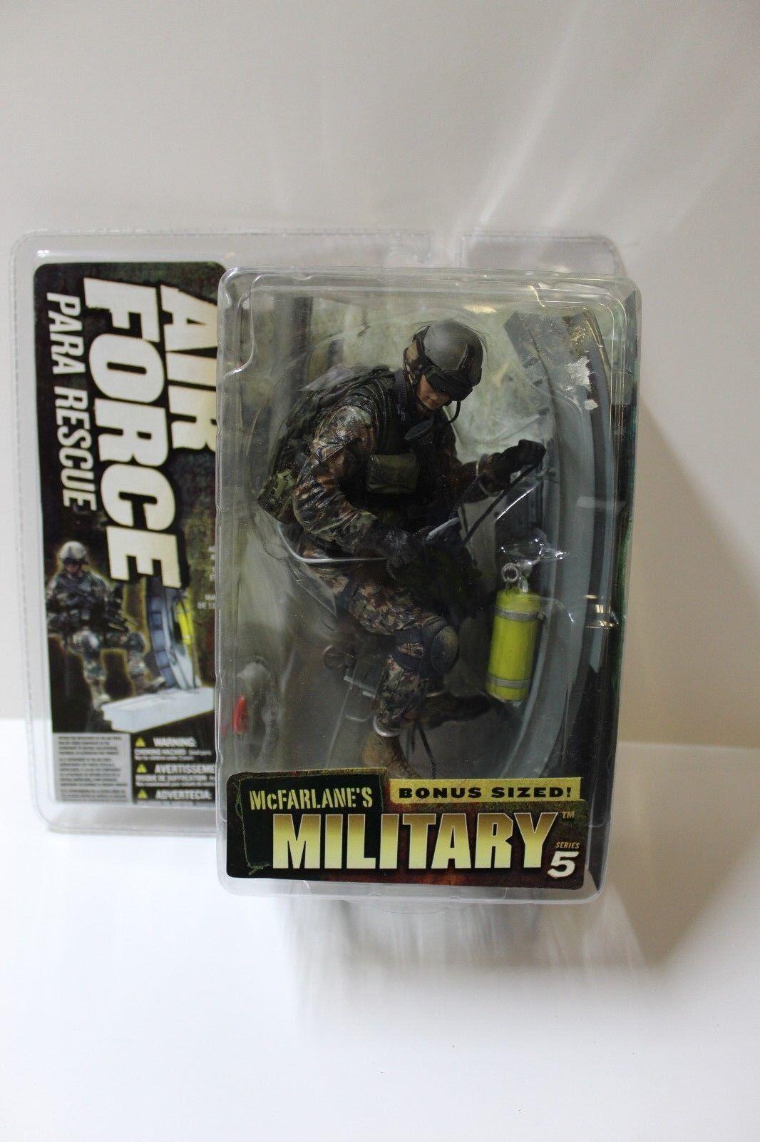 McFarlane Military Series 5 Air Force Para rescue figurine livraison gratuite