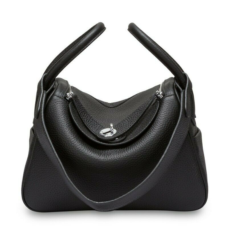 Beautiful Swan Large Black Shopping Bag Christmas Present Idea AB-S2BLB