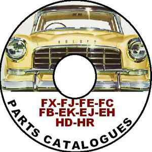 HOLDEN-FJ-FE-FC-FB-EK-EJ-EH-HD-HR-FACTORY-PARTS-CATALOGUE-CDROM