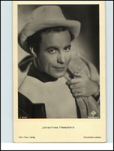 UFA-Foto-Baumann-Buehne-Theater-Schauspieler-JOHANNES-HEESTERS-Film-Foto-Verlag