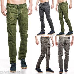 zahida-One-PUBLIC-Pantalones-Vaqueros-De-Hombre-Chinos-Clubwear-AZUL-OSCURO