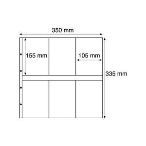 323390-Leuchtturm-Kunststoffhuellen-MAXIMUM-fuer-neue-Postkarten-Hochformat-klar