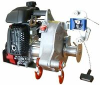 Portable Gas-powered Pulling / Lifting Winch - Pch1000