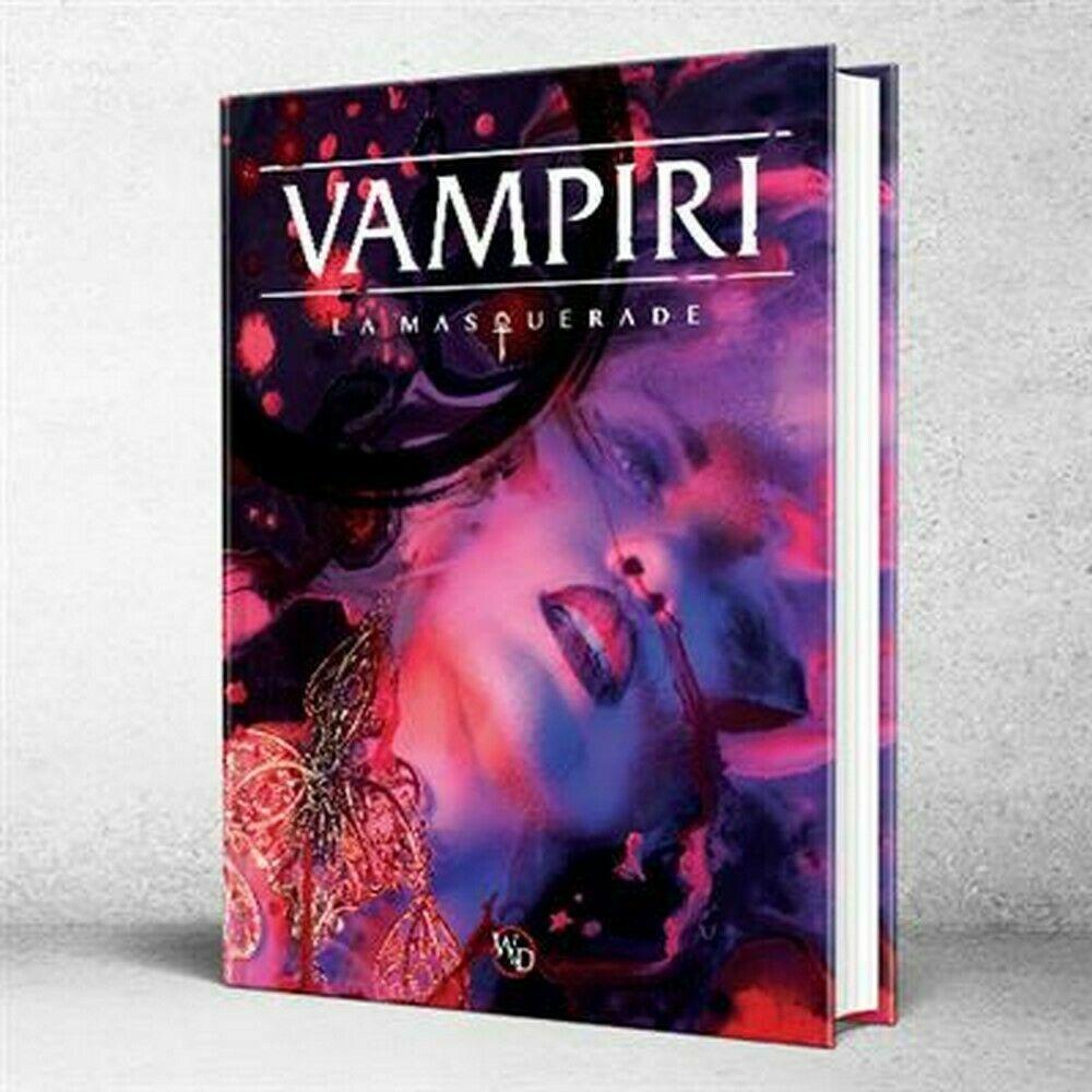 Vampiri La Masquerade 5a  Edizione - Gioco di Ruolo uomouale GDR RPG ita Asmodee  marche online vendita a basso costo