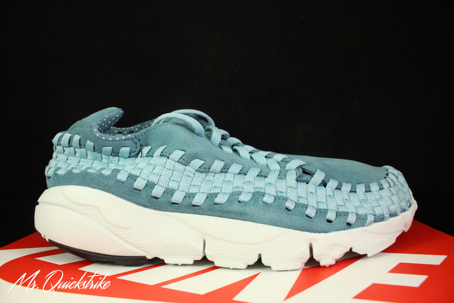 d7bbf9d85ddbc AIR FOOTSCAPE WOVEN NM SZ 10.5 SMOKEY BLUE 002 NIKE 875797 ...