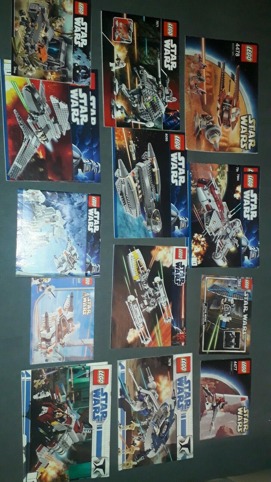 Lego Stern Wars Bauanleitungen 50 Stück