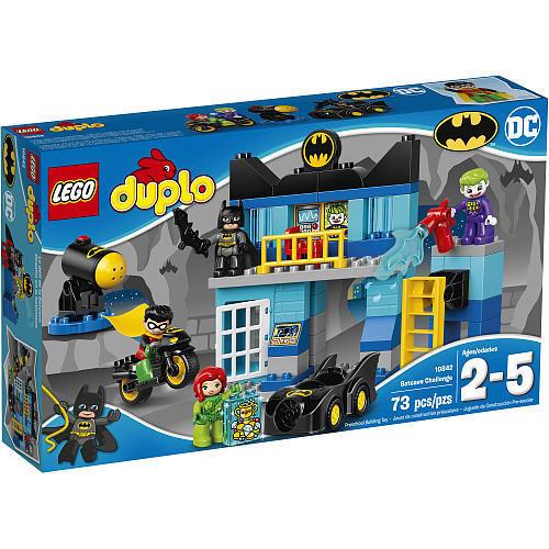LEGO 10842 DUPLO BATCAVE CHALLENGE - BATMAN JOKER POISON IVY ROBIN * SEALED BOX