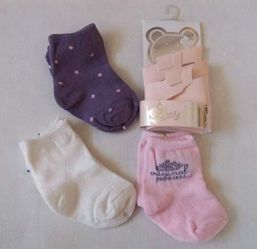 MC Baby Socken Söckchen 3paar   Gr.12m o.24m  Neu