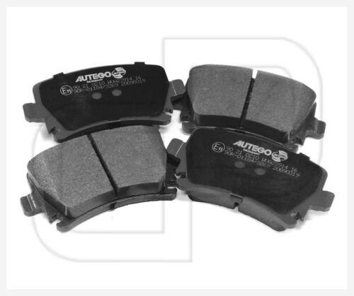 VW AUDI SEAT SKODA Bremsbeläge Bremsklötze hinten mit E-Prüfzeichen #2