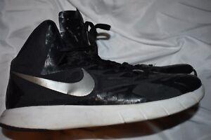 nouveaux styles d83de 77981 Details about Nike Hyperquickness Lunarlon Black White Basketball Shoes 9.5  652775-001 EUC