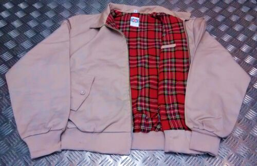 NEW Harrington 70`s 80`s Style Jacket MOD//Scooter//Bikers All Sizes//Colours