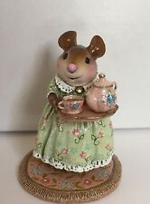 Wee Forest Folk A Cosy Tea Spring ~LIMITED- ~ ONLY 300 ~New w/ Authenticity Card