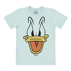 T Duck Face shirt bleu Comics Disney Sailor Donald avec logo rrIqR