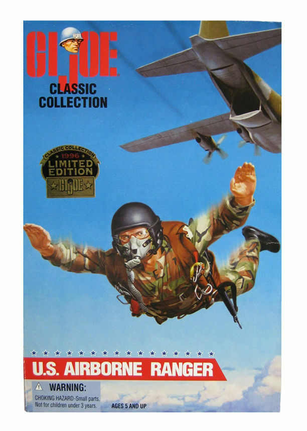 Vintage hasbro airborne ranger actionfigur g.i. joe.