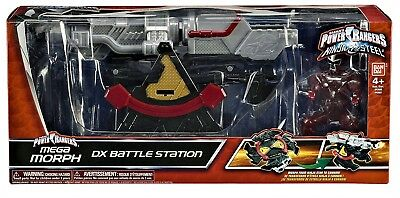 Sensibile Power Rangers - Ninja Steel - Station De Combat - Figurine Jouet + 4 Ans - Neuf