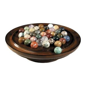 Solitaire-Semi-precious-stones-and-polished-Wood-Solitaire-Quality-Classic-Game