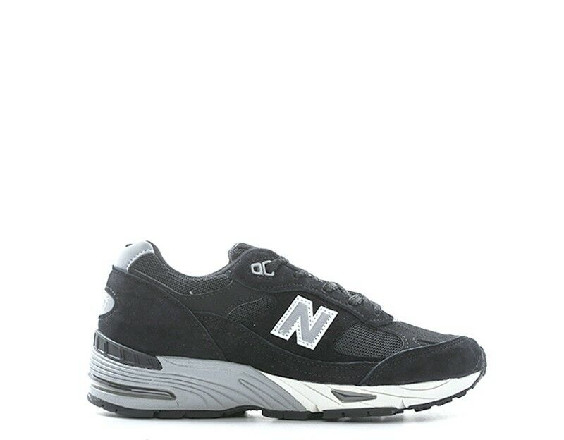 shoes NEW BALANCE women Sneakers  black Scamosciato,Tessuto W991EKS