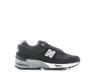 Scamosciato Nero Sneakers New Scarpe Balance Donna tessuto W991eks IXqxwa