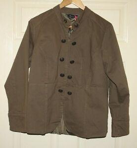 BNWT-Marisota-Military-style-khaki-jacket-sizes-14-to-32