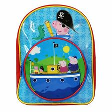 George Peppa Pig Pirate Dinosaur Ship Kids Backpack Rucksack Travel School 02ff882df348f