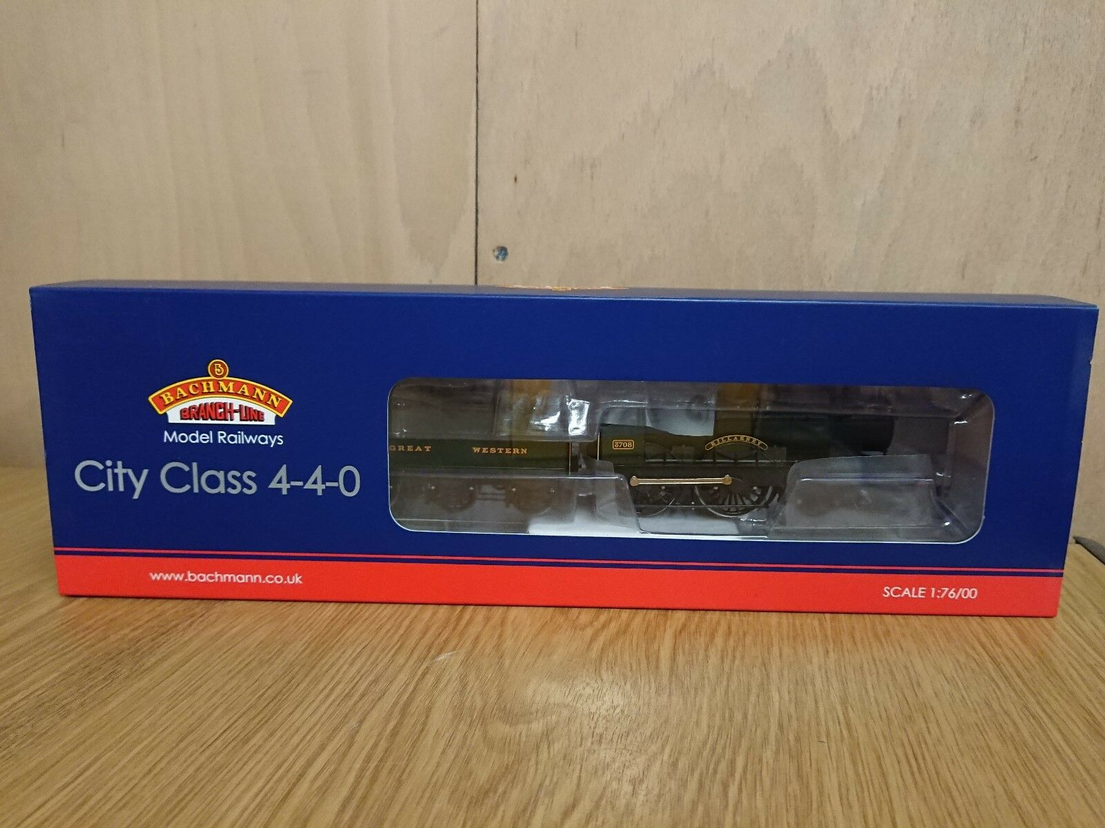 Bachmann 31-728 City Class 3708  KILLARNEY  GWR verde DCC Ready NEW