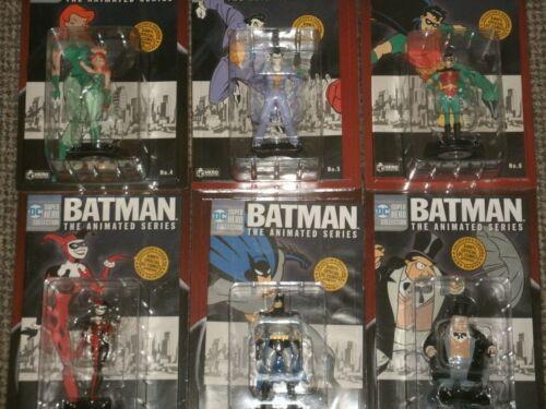 BATMAN la collezione di figurine serie animate DC Comics Eaglemoss Super Heroes