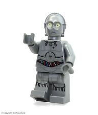 LEGO Star Wars MiniFigure - Silver Protocol Droid (75146  Advent Calendar 2016)