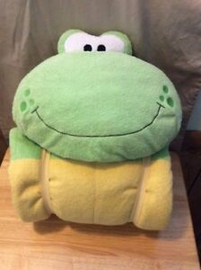 Stephen Joseph Character Nap Mat Frog W Carrying Handle