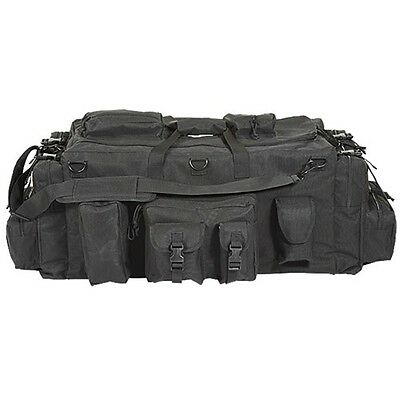 Voodoo Tactical Universal Mojo Load-Out Utility Gear Bag w/Backpack Straps Black