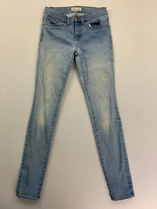 Madewell-Women-039-s-Blue-Skinny-Jeans-Size-27