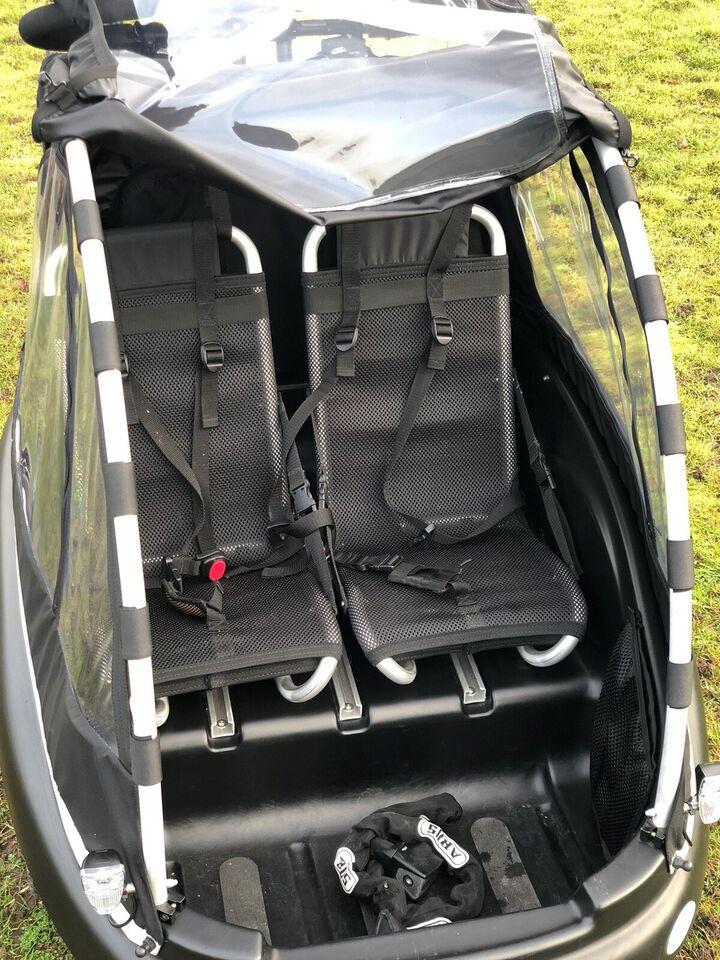 Ladcykel, Winther Kangaroo E-Luxe 13 Ah, 8 gear