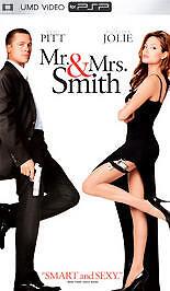UMD-Movie Mr. and Mrs. Smith playstation portable Brad Pitt Angelina Jolie 24543214816