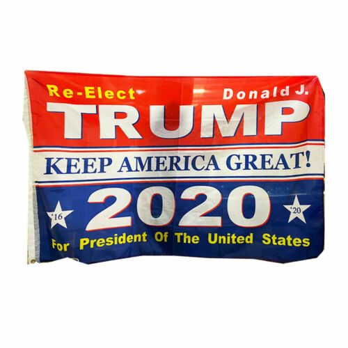 Trump 2020 Keep America Great President Donald MAGA 3x5 Flag Republican