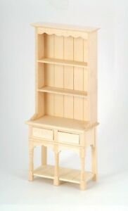 1//12 Escala Casa de Muñecas Muebles llano madera 2 Cajones Cómoda BEF005